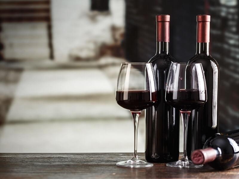 Středně plná červená vína