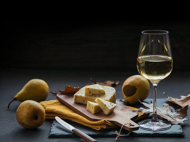 Svěží šťavnatá bílá vína