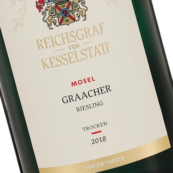 Graacher Riesling Trocken 2018 (Reichsgraf von Kesselstatt)