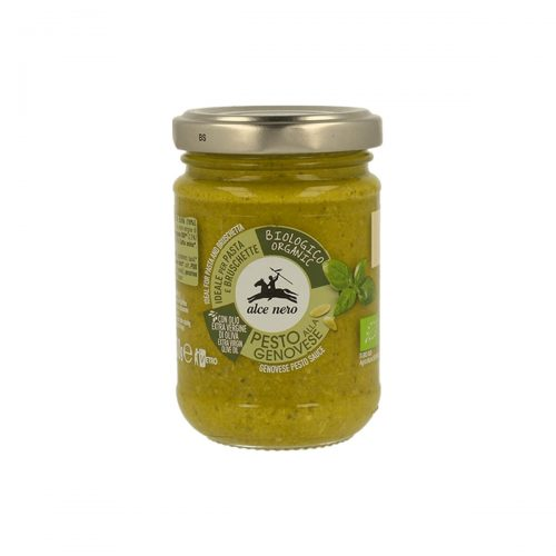 Pesto genovese Alce Nero organic