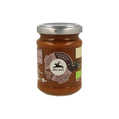 Pesto s černými olivami Alce Nero organic