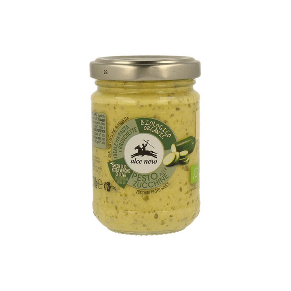 Pesto s cuketou Alce Nero organic