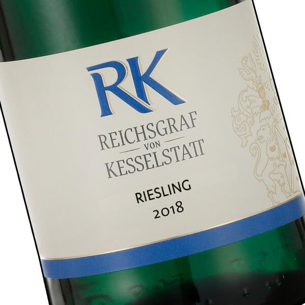 """""""RK"""" Riesling Feinfruchtig 2018 (Reichsgraf von Kesselstatt)"""