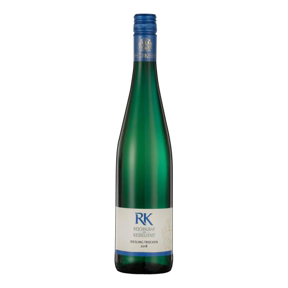 """""""RK"""" Riesling Trocken 2018 (Reichsgraf von Kesselstatt)"""