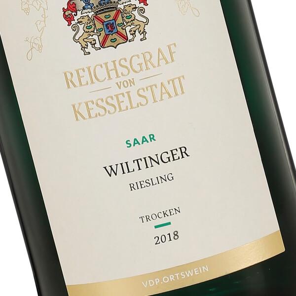 Wiltinger Riesling Trocken 2018 (Reichsgraf von Kesselstatt)