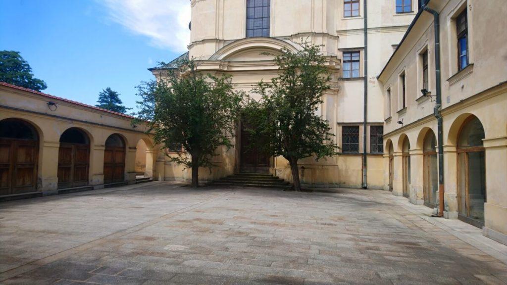 Městská hudební síň Hradec Králové - atrium