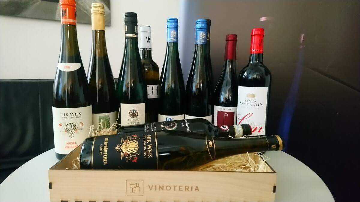 Vinoteria - vína na Hradeckého koštýře 2019