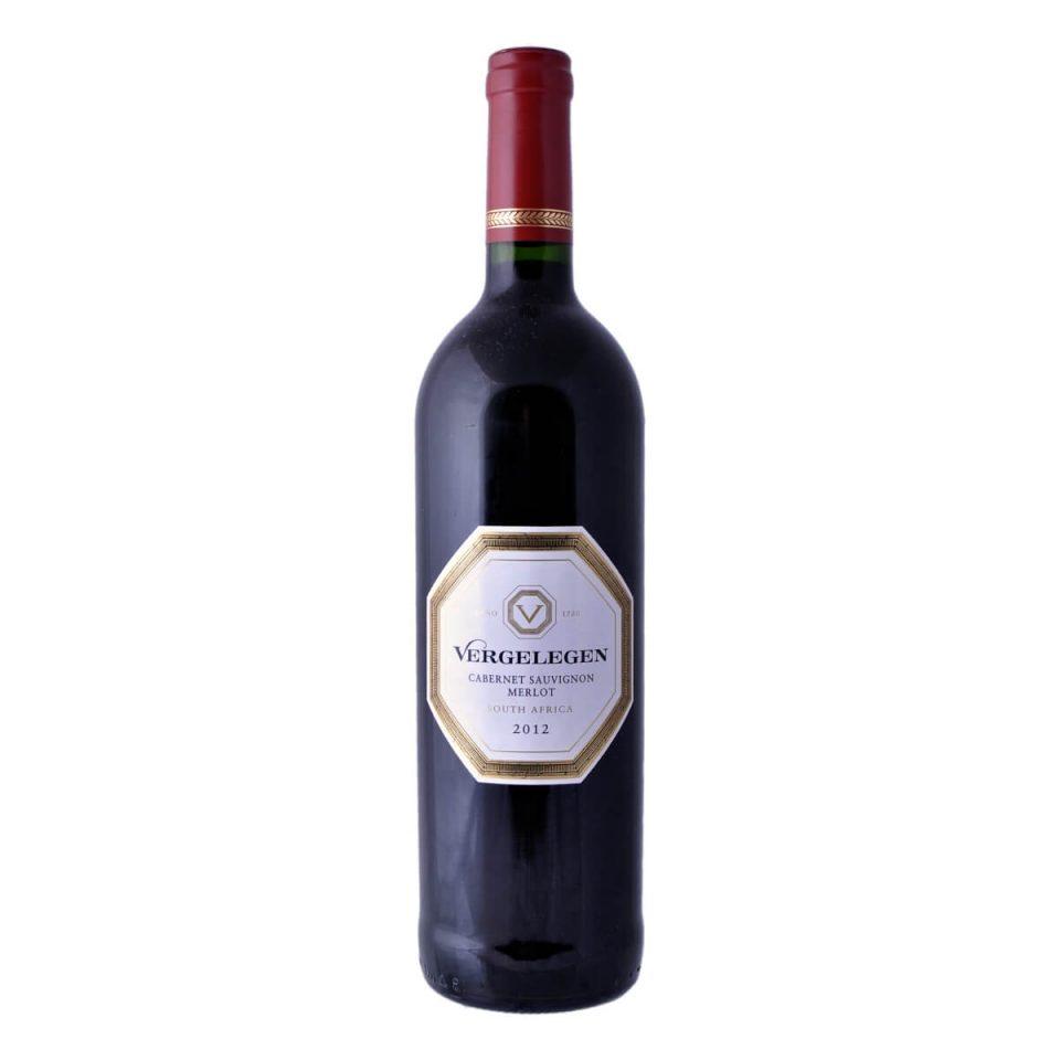 Cabernet Sauvignon – Merlot 2012 (Vergelegen)