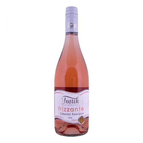 Cabernet Sauvignon rosé Frizzante moravské zemské suché 2018 (Vinařství Fojtík)
