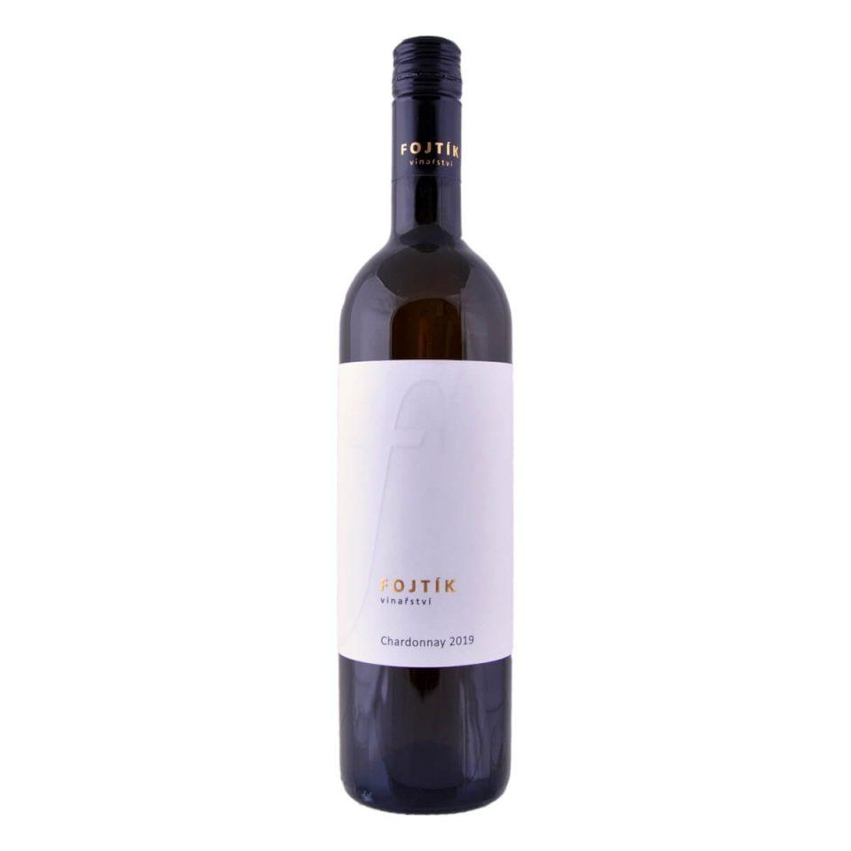 Chardonnay pozdní sběr suché 2019 (Vinařství Fojtík)